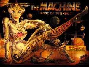 The Machine-Bride of Pinbot